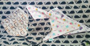 Nyálkendő több színben - Kézzel készített baba-mama kiegészítők, ajándékok - Baby Chameleon