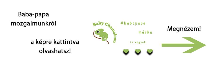 """Ajánlott cikk #babapapa Ňe vegyél"""" Baby Chameleon-t - Kézzel készített baba-mama kiegészítők, ajándékok - Baby Chameleon"""