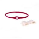 Baba fejpánt: piros pánt, fehér masni külön - Kézzel készített baba-mama kiegészítők, ajándékok - Baby Chameleon