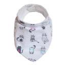 Baba nyálkendő: cicás és vízhatlan anyagú - Kézzel készített baba-mama kiegészítők, ajándékok - Baby Chameleon