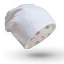 Babasapka: csiga mintás és fehér - Kézzel készített baba-mama kiegészítők, ajándékok - Baby Chameleon