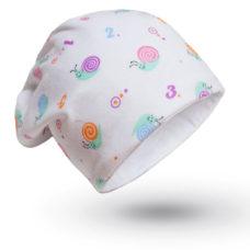 Baba sapka: csiga mintás - Kézzel készített baba-mama kiegészítők, ajándékok - Baby Chameleon