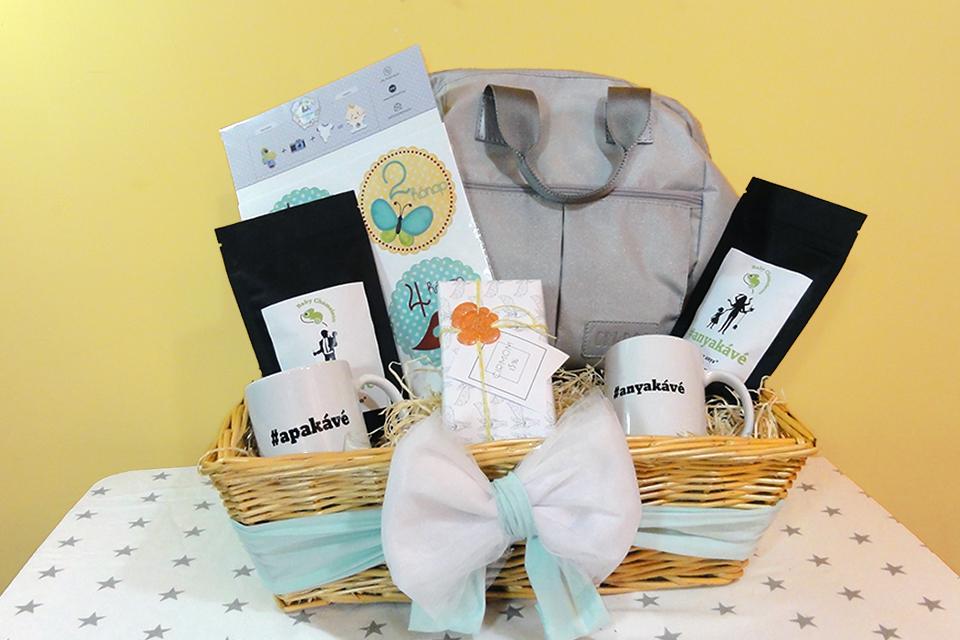 d3d3f6114c Babaváró ajándék ötletek Baby Chameleon anyakávé apakávé Cirmom Minimemo  Grudo - Kézzel készített baba-mama