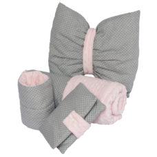 Babaváró szett extra, baba takaró, szoptatós karpárna, pelenkatartó, masni párna - Kézzel készített baba-mama kiegészítők, ajándékok - Baby Chameleon