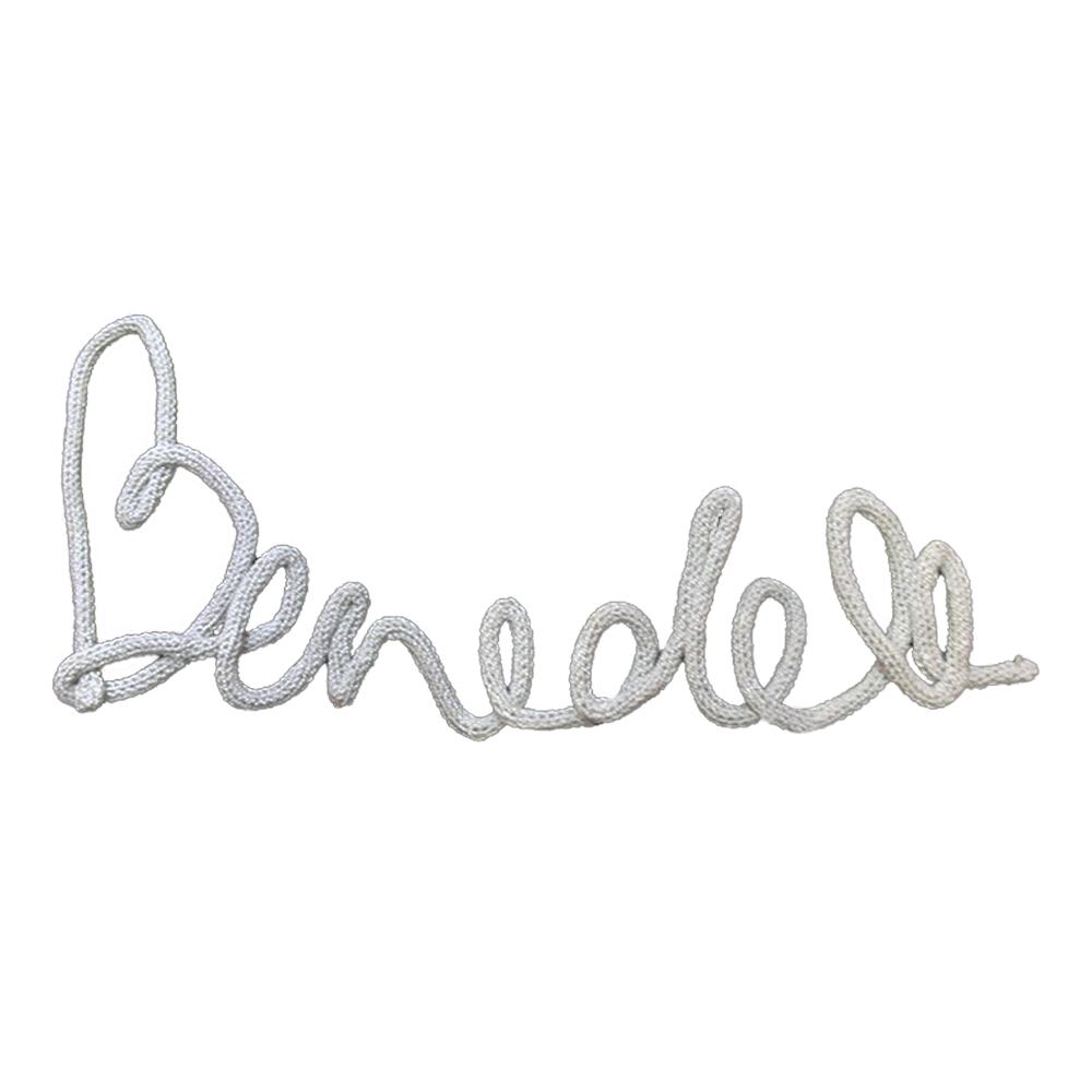 Dekor nevek Bendek szürke - Kézzel készített baba-mama kiegészítők ... 056dc25ca8
