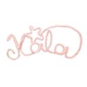 Dekor nevek Kála rózsaszín - Kézzel készített baba-mama kiegészítők, ajándékok - Baby Chameleon