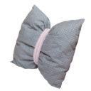 Masni párna: szürke alapon fehér csillagos - Kézzel készített baba-mama kiegészítők, ajándékok - Baby Chameleon